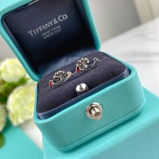 Tiffany & Co. - 美品 【ティファニー】 Tワイヤーピアス