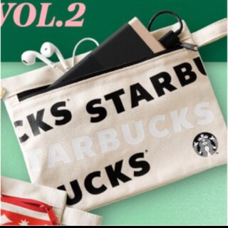 Starbucks Coffee - 新品未使用 スタバ スターバックス クリスマス  ホリデー キャンバス ポーチ