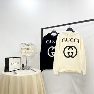 Gucci - [2枚14000円送料込み] GUCCI  パーカー  長袖 男女兼用