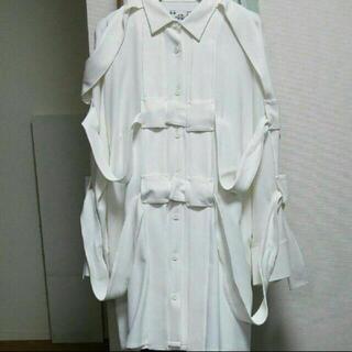 コムデギャルソン(COMME des GARCONS)のkemono じゅんかんしゃつ(ひざ丈ワンピース)