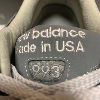 ニューバランス(New Balance)のNew balance 993 黒 26.5 2Ewide(スニーカー)