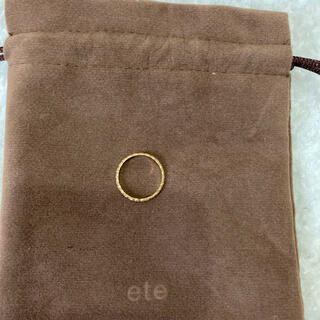 ete - 本日のみお値下げ【美品】ete K10 クレール カットリング