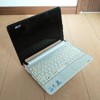 エイサー(Acer)の【カイオウ様】acer Aspire one ネットPC Windows XP(ノートPC)