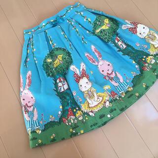 Emily Temple cute - エミリーテンプル うさぎスカート 110