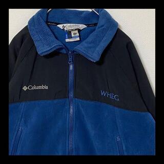 コロンビア(Columbia)の【大人気】 Columbia コロンビア フリースジャケット ブルゾン 切り替え(ナイロンジャケット)
