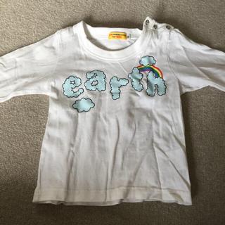 アースミュージックアンドエコロジー(earth music & ecology)の長袖シャツ 90(Tシャツ/カットソー)