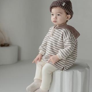 【即納】ウィルターフードフリースT 90 韓国子供服