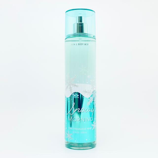 Bath & Body Works(バスアンドボディーワークス)のBBW Snowy Morning ボディーミスト   コスメ/美容の香水(香水(女性用))の商品写真