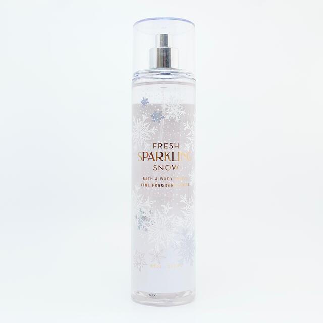 Bath & Body Works(バスアンドボディーワークス)のBBW Fresh Sparkling Snow ボディーミスト   コスメ/美容の香水(香水(女性用))の商品写真