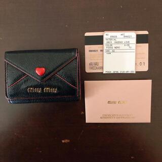 miumiu - ミュウミュウ ラブレター ミニ財布