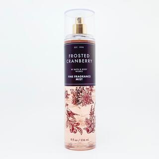バスアンドボディーワークス(Bath & Body Works)のBBW Frosted Cranberry ボディーミスト  (香水(女性用))