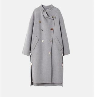 ルシェルブルー(LE CIEL BLEU)のIRENE 2020AW Kersey Wool coat (ロングコート)