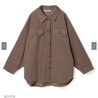 GRL - *GRLコーデュロイオーバーシャツ*ブラウン
