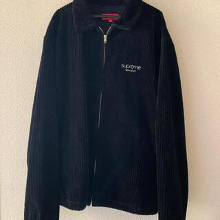 シュプリーム(Supreme)のsupreme corduroy jacket 黒 M(ブルゾン)