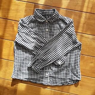 UNIQLO - 子供服 フランネルシャツ 110
