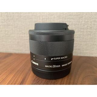 Canon - 《激押し逸品レンズ◎》Canon マクロレンズ EF-M28mm F3.5 IS