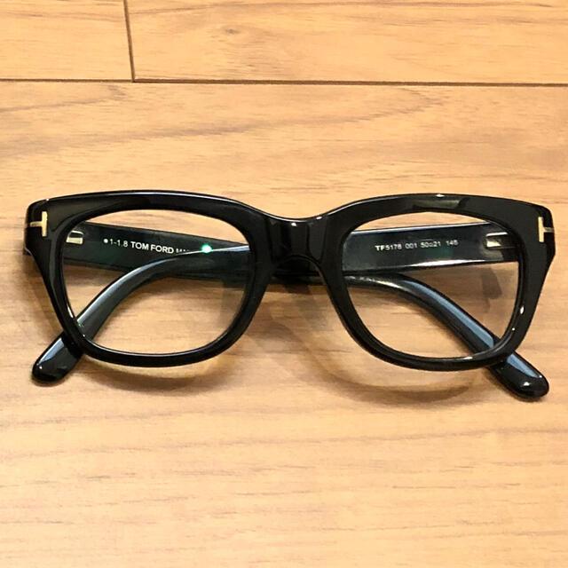 TOM FORD(トムフォード)のトムフォード ft5178 ブラック メンズのファッション小物(サングラス/メガネ)の商品写真