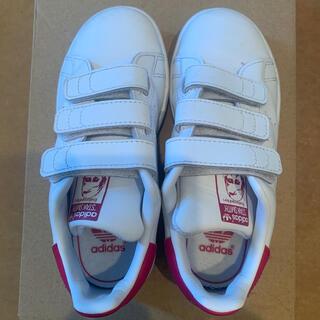 adidas - スタンスミス  ピンク 18センチ