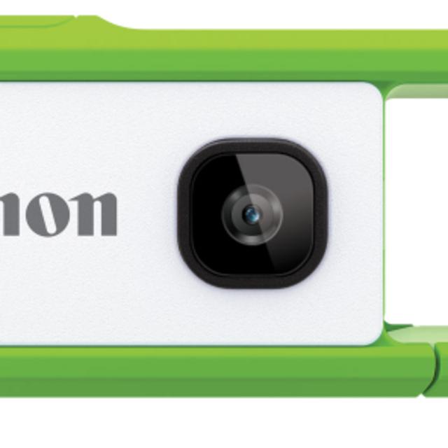 Canon(キヤノン)の新品未使用iNSPiC REC FV-100-GN [グリーン] スマホ/家電/カメラのカメラ(ビデオカメラ)の商品写真