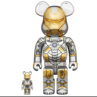 MEDICOM TOY - BE@RBRICK SORAYAMA IRON MAN 400%