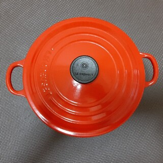 LE CREUSET - 箱あり ル・クルーゼ 20cm 両手鍋