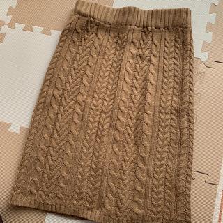 GRL - ニットスカート ブラウン