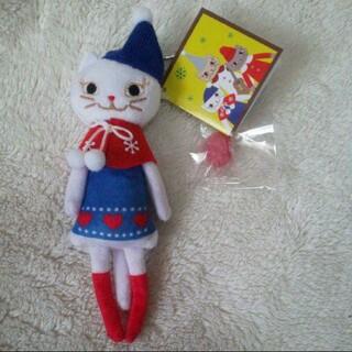 KALDI - 新品未使用☆カルディ☆くたくたネコ 白ねこちゃん 2020 クリスマス