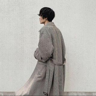 ジエダ(Jieda)のstein 19ss oversized down pat coat(ステンカラーコート)