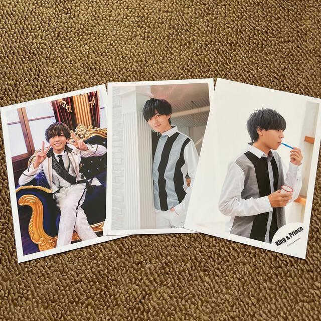 Johnny's(ジャニーズ)のKing & Prince永瀬廉 公式写真 エンタメ/ホビーのタレントグッズ(アイドルグッズ)の商品写真