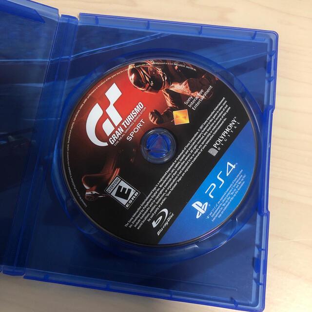 PlayStation4(プレイステーション4)の(ps4)グランツーリスモSport エンタメ/ホビーのゲームソフト/ゲーム機本体(家庭用ゲームソフト)の商品写真