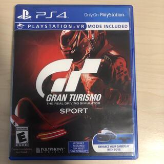 PlayStation4 - (ps4)グランツーリスモSport