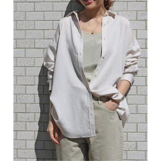 IENA - Ly/Pツイルオーバーシャツ