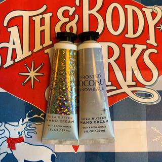 バスアンドボディーワークス(Bath & Body Works)の【最新作 新品】バスアンドボディワークス ハンドクリーム  2本セット(ハンドクリーム)