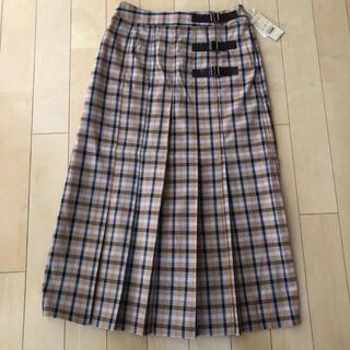 スタディオクリップ(STUDIO CLIP)のスタディオクリップ チェックキルトスカート(ロングスカート)