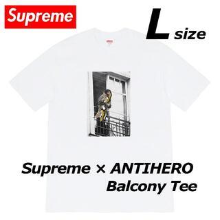 Supreme - 【新品 L】 20FW Supreme ANTIHERO Balcony Tee