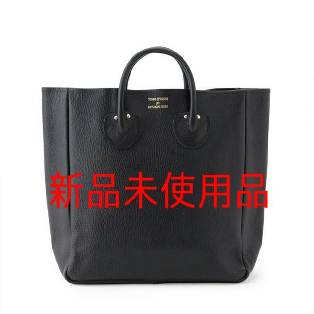 IENA(イエナ)のyoung&olsen レザートートバッグ  ブラック レディースのバッグ(トートバッグ)の商品写真