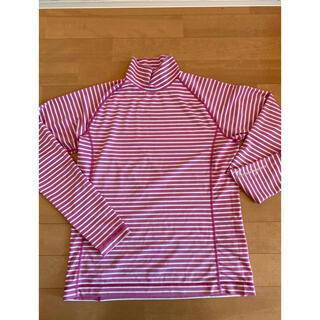 マンシングウェア(Munsingwear)の美品 マンシングウェア ストレッチロンT ゴルフウェア タートルネックロンT(ウエア)