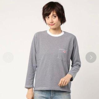 ダントン(DANTON)の《大人気ボーダー》DANTON ダントン ロングTシャツ 36サイズ(Tシャツ(長袖/七分))