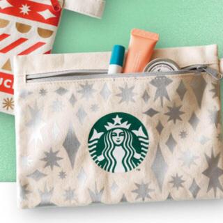 Starbucks Coffee - スターバックス 非売品 ポーチ シルバー