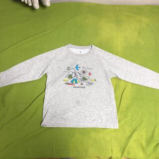 モンベル(mont bell)のmont bel kids 140長袖 カットソー(Tシャツ/カットソー)