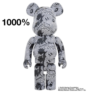 メディコムトイ(MEDICOM TOY)のKeith Haring Mickey Mouse 1000%(キャラクターグッズ)