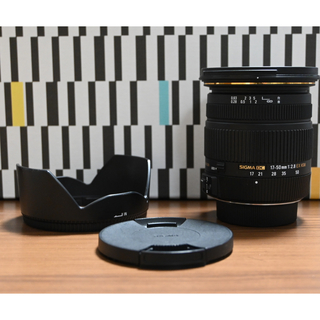 SIGMA - SIGMA DC 17-50mm f2.8 EX HSM Nikon用
