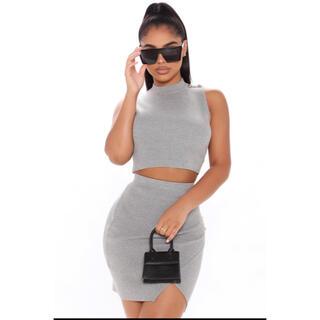 ZARA - Fashion Nova ミニスカートセットアップ
