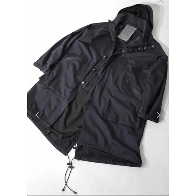 Adam et Rope'(アダムエロぺ)のアダムエロペ  モッズコート メンズのジャケット/アウター(モッズコート)の商品写真
