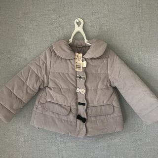 petit main - 新品 プティマイン アウター リボン 中綿コート ジャンパー