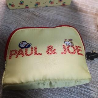 PAUL & JOE - 【商品】ポール&ジョー ドラえもん クリスマスコフレ 限定ポーチ