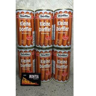 【76%OFF❗】独国ドフラー社製フランクフルト缶詰内容物250g5本入×6缶