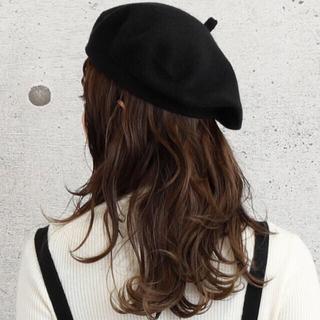 who's who Chico - ABITOKYO(アビトーキョー) ベレー帽 ブラック 黒 帽子 無地