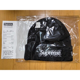 Supreme - Supreme bandana box logo beanie 黒