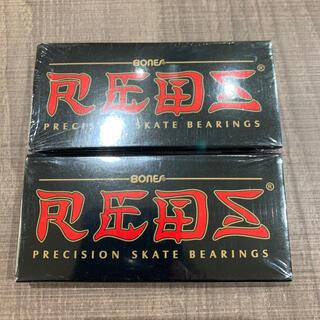 インディペンデント(INDEPENDENT)のベアリング 2箱 REDS レッズ BONES BEARINGS ボーンズ(スケートボード)